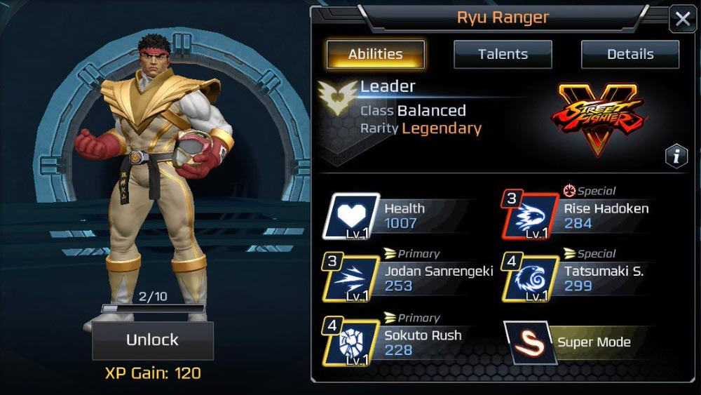 Power Rangers Legacy Wars Street Fighter Showdown 2 Out Of 6 Image Gallery