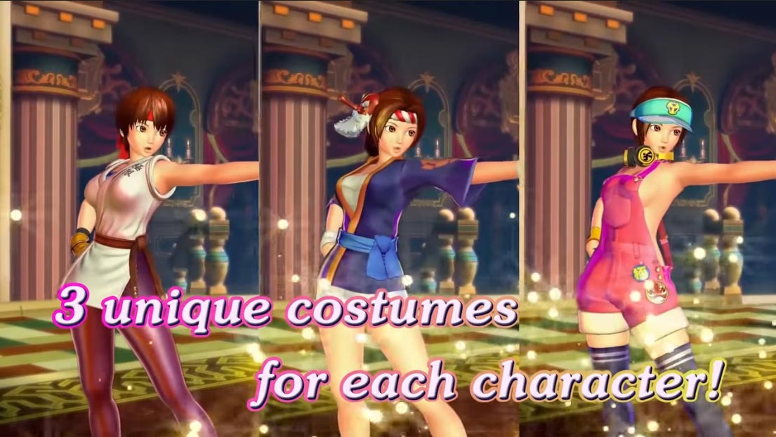 SNK Heroines story and customization 3 out of 6 image gallery