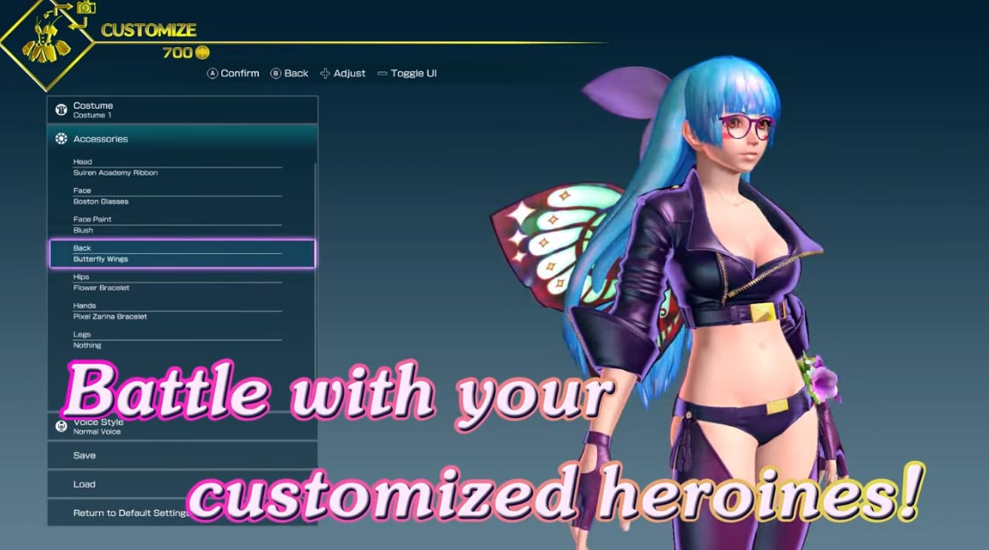 SNK Heroines story and customization 5 out of 6 image gallery