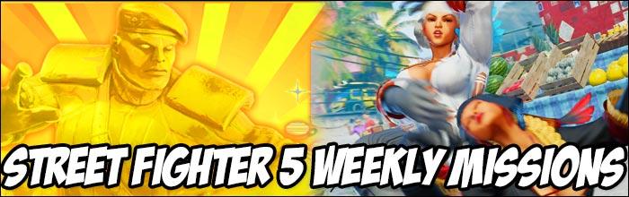 Earn 18,300 Fight Money in this week's Street Fighter 5