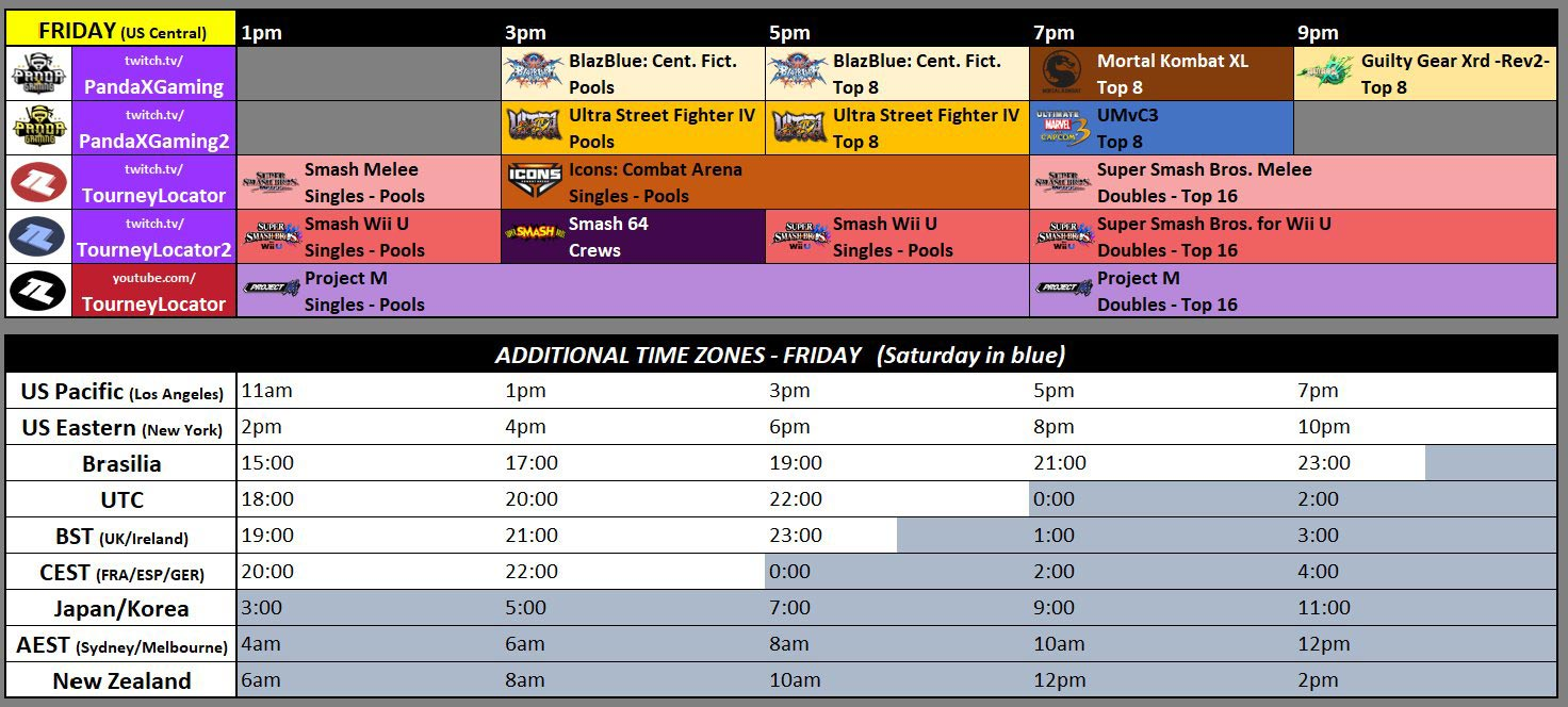 Kumite in Texas, Low Tier City 6 schedule 1 out of 3 image gallery