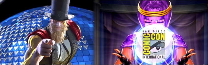 Could We See G Revealed At San Diego Comic Con For Street Fighter 5 Capcom Does Like To Announce Fighting Game News