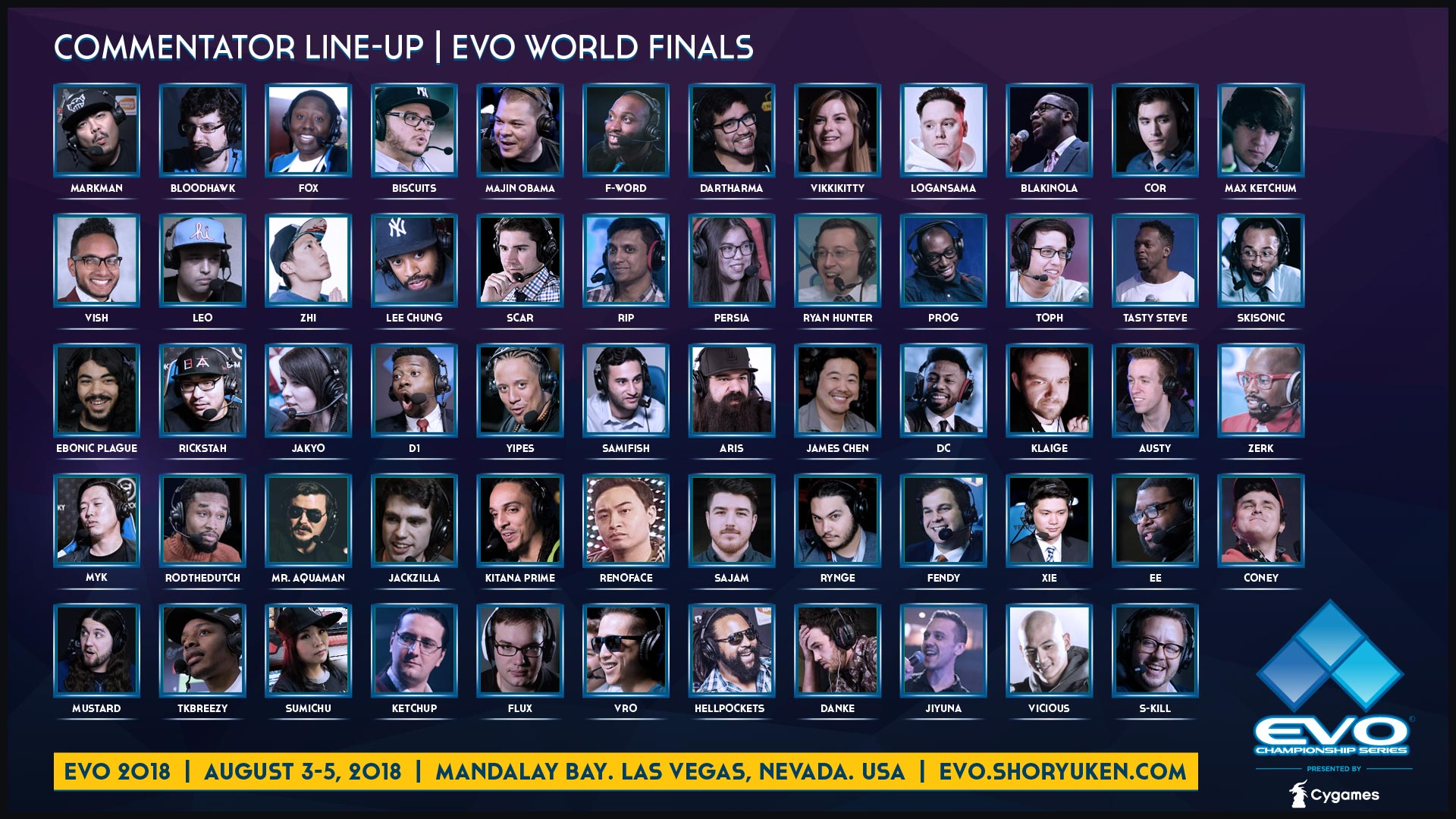 Final EVO schedule 3 out of 3 image gallery