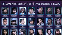 Final EVO schedule  out of 3 image gallery