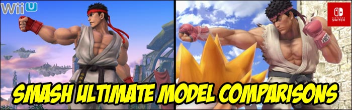 Reddit user compares every Super Smash Bros  Ultimate model to its