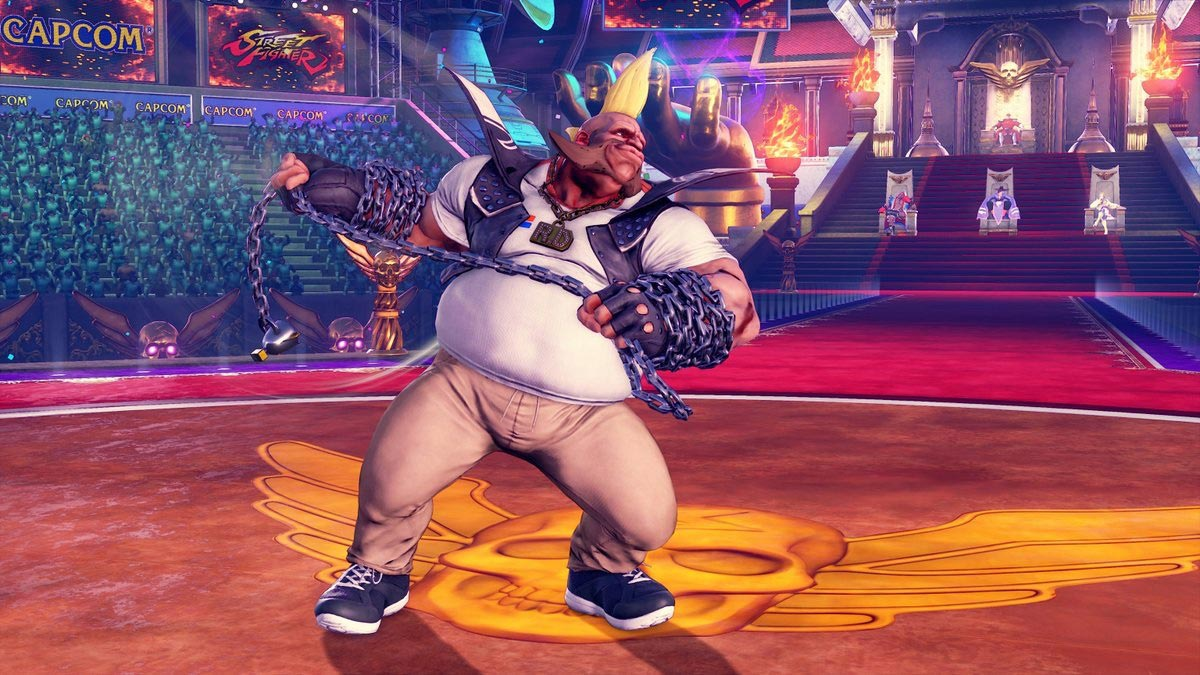 MenaRD's Street Fighter 5 Capcom Cup Champion's Choice Birdie costume 1 out of 9 image gallery