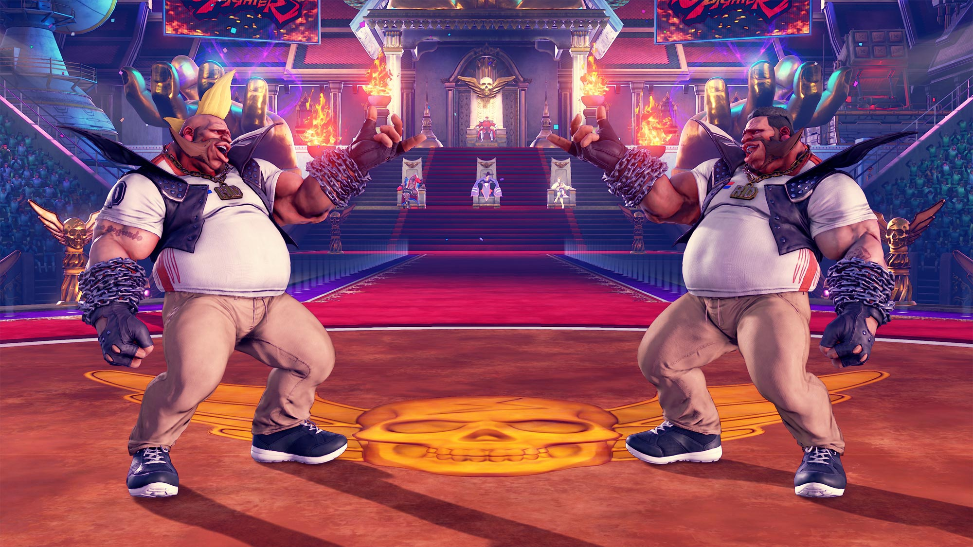 MenaRD's Street Fighter 5 Capcom Cup Champion's Choice Birdie costume 2 out of 9 image gallery