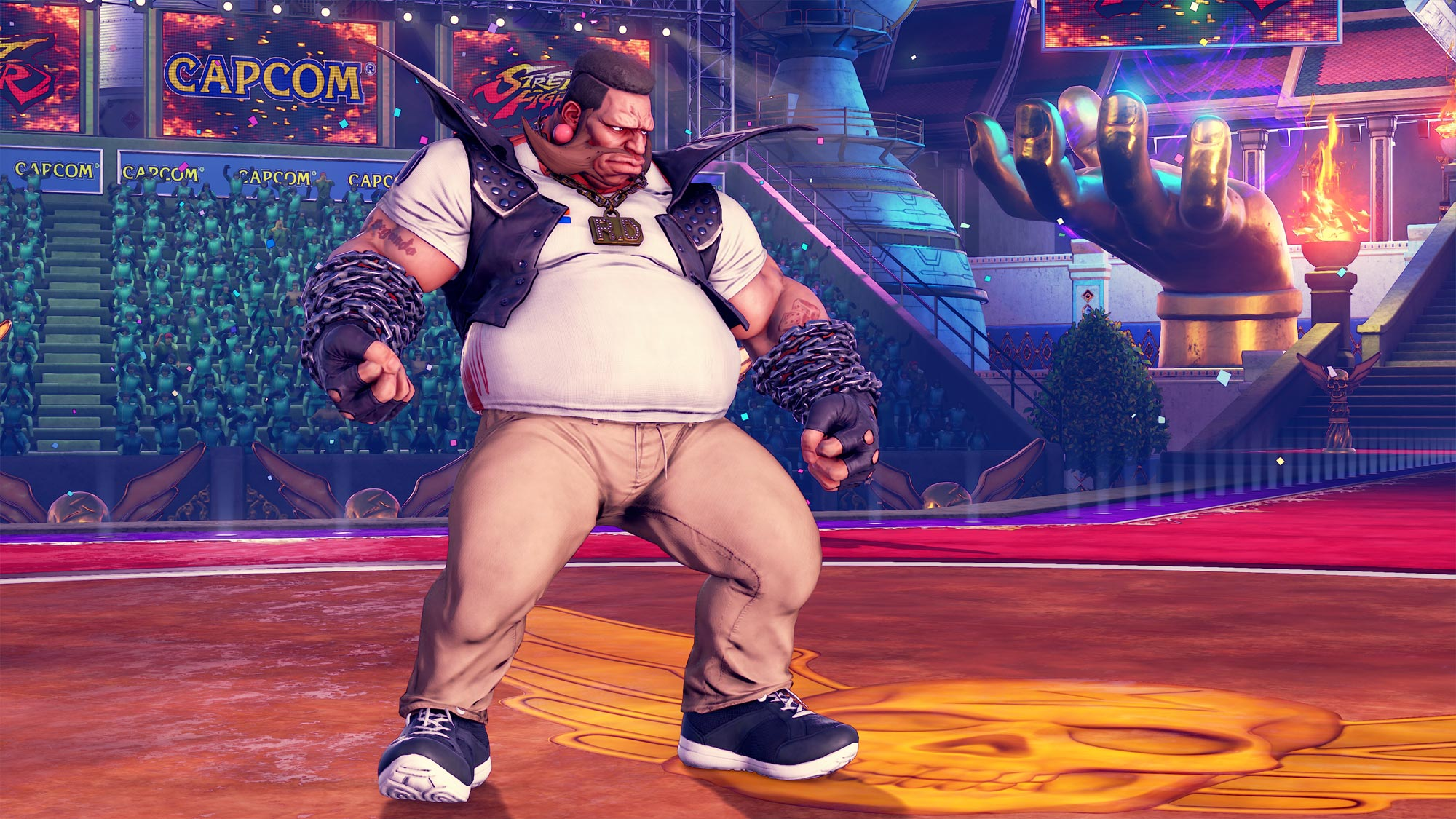 MenaRD's Street Fighter 5 Capcom Cup Champion's Choice Birdie costume 3 out of 9 image gallery