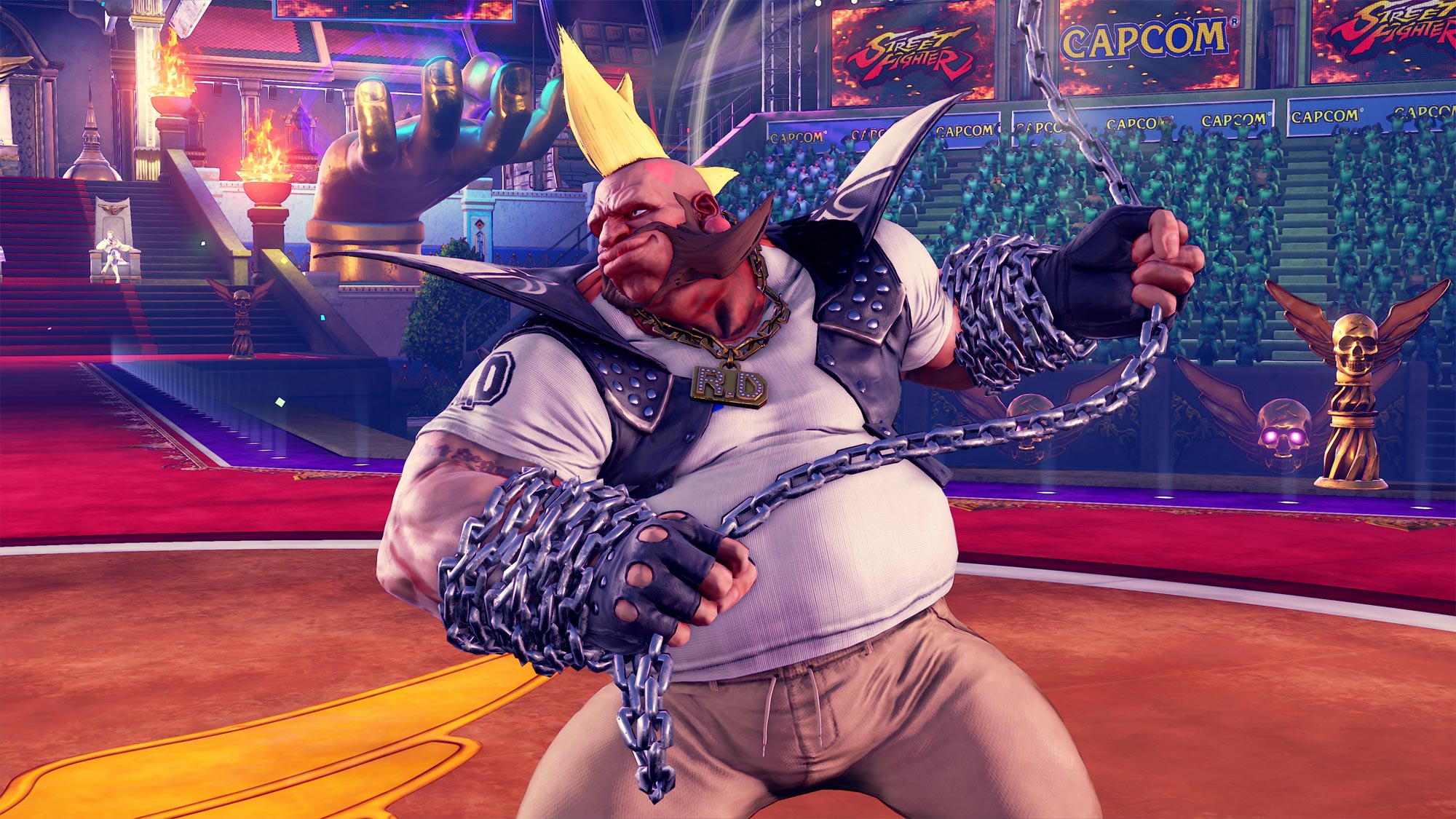 MenaRD's Street Fighter 5 Capcom Cup Champion's Choice Birdie costume 6 out of 9 image gallery