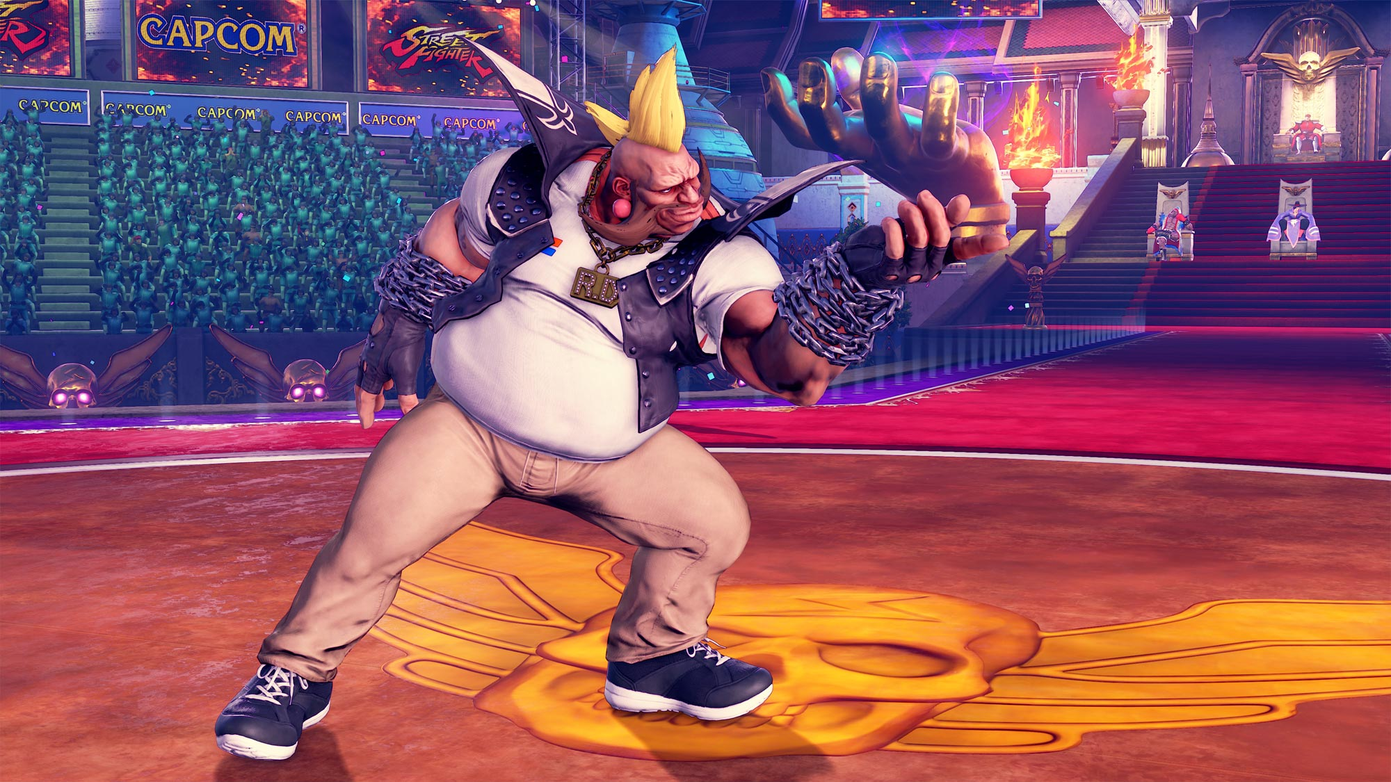 MenaRD's Street Fighter 5 Capcom Cup Champion's Choice Birdie costume 8 out of 9 image gallery
