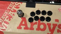 Arby's custom Qanba Dragon fightstick  out of 4 image gallery