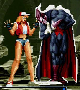 Female Terry Bogard in SNK vs. Capcom: SVC Chaos 2 out of 2 image gallery