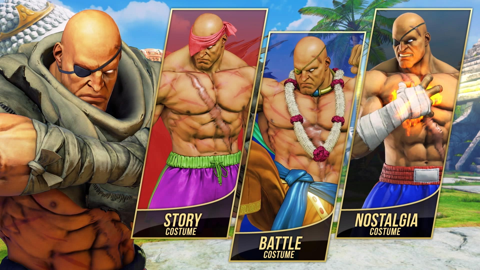 G and Sagat Street Fighter 5: Arcade Edition 1 out of 15 image gallery