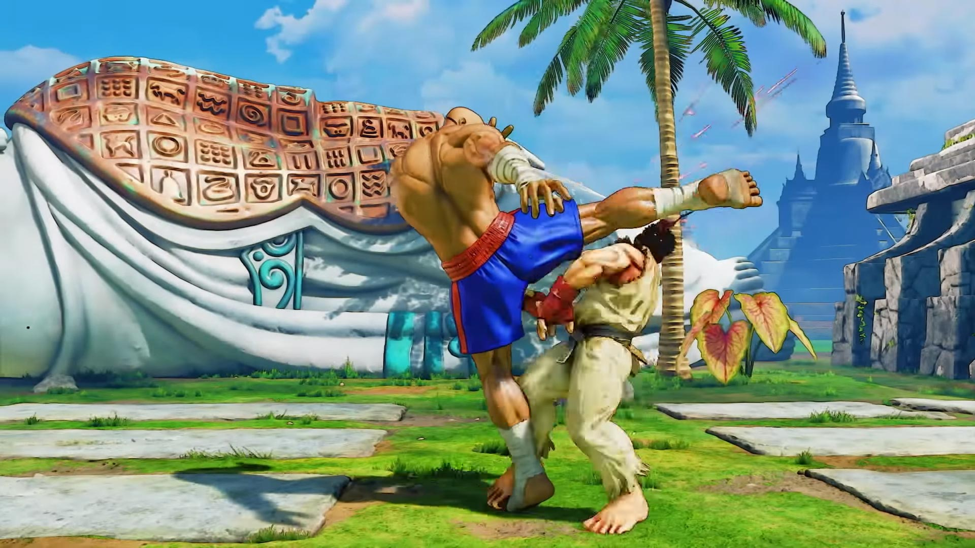 G and Sagat Street Fighter 5: Arcade Edition 11 out of 15 image gallery
