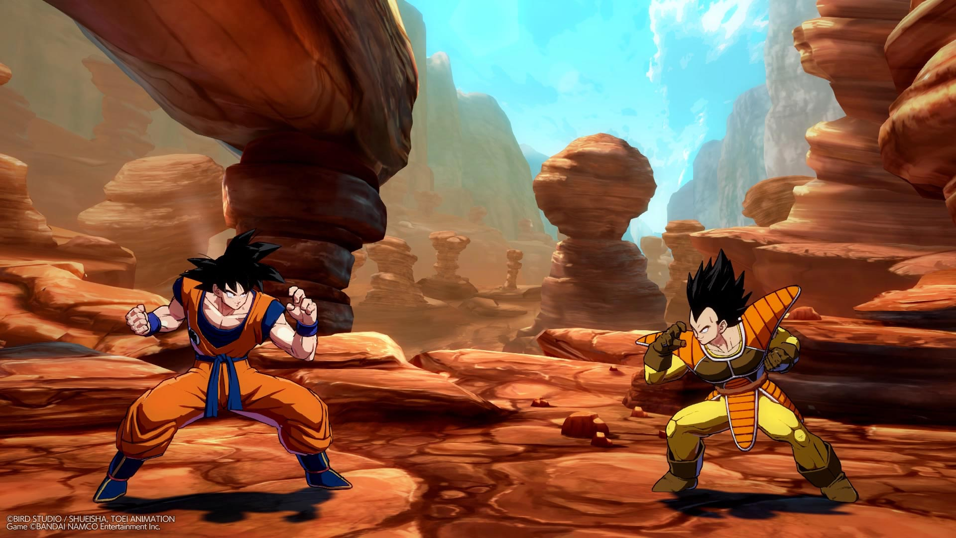 Base Form Goku and Base Form Vegeta now available in Dragon Ball FighterZ 2 out of 12 image gallery
