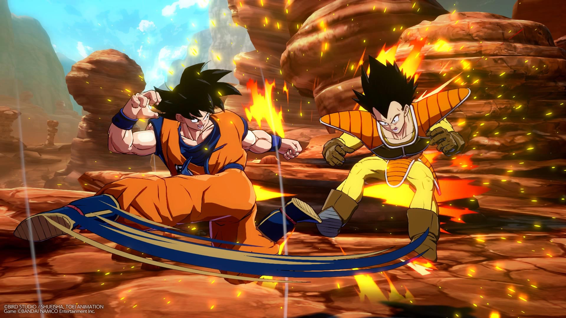 Base Form Goku and Base Form Vegeta now available in Dragon Ball FighterZ 4 out of 12 image gallery