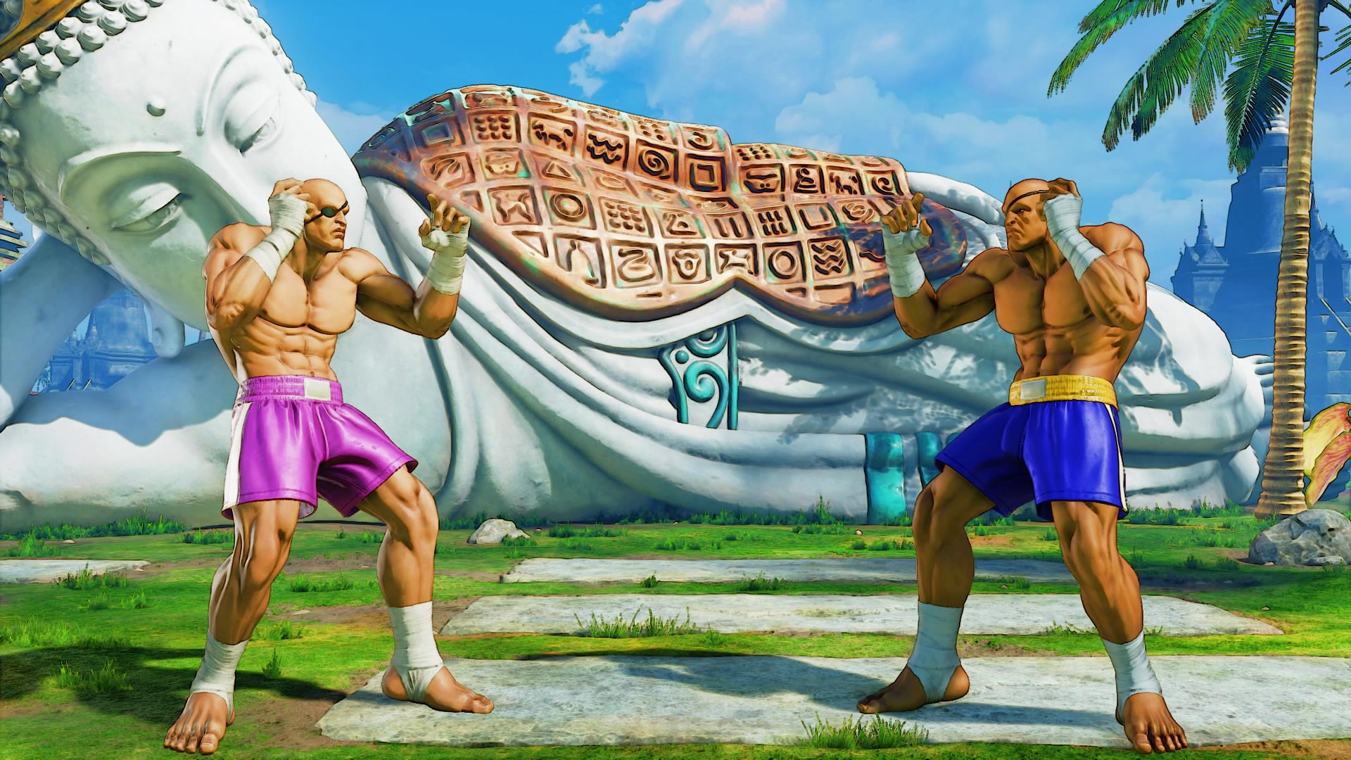 Sagat's classic costume colors in Street Fighter 5: Arcade Edition 1 out of 5 image gallery
