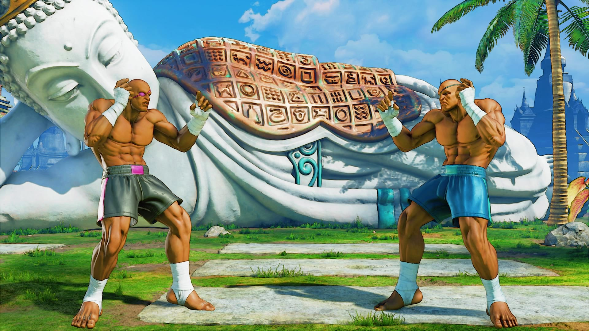 Sagat's classic costume colors in Street Fighter 5: Arcade Edition 4 out of 5 image gallery
