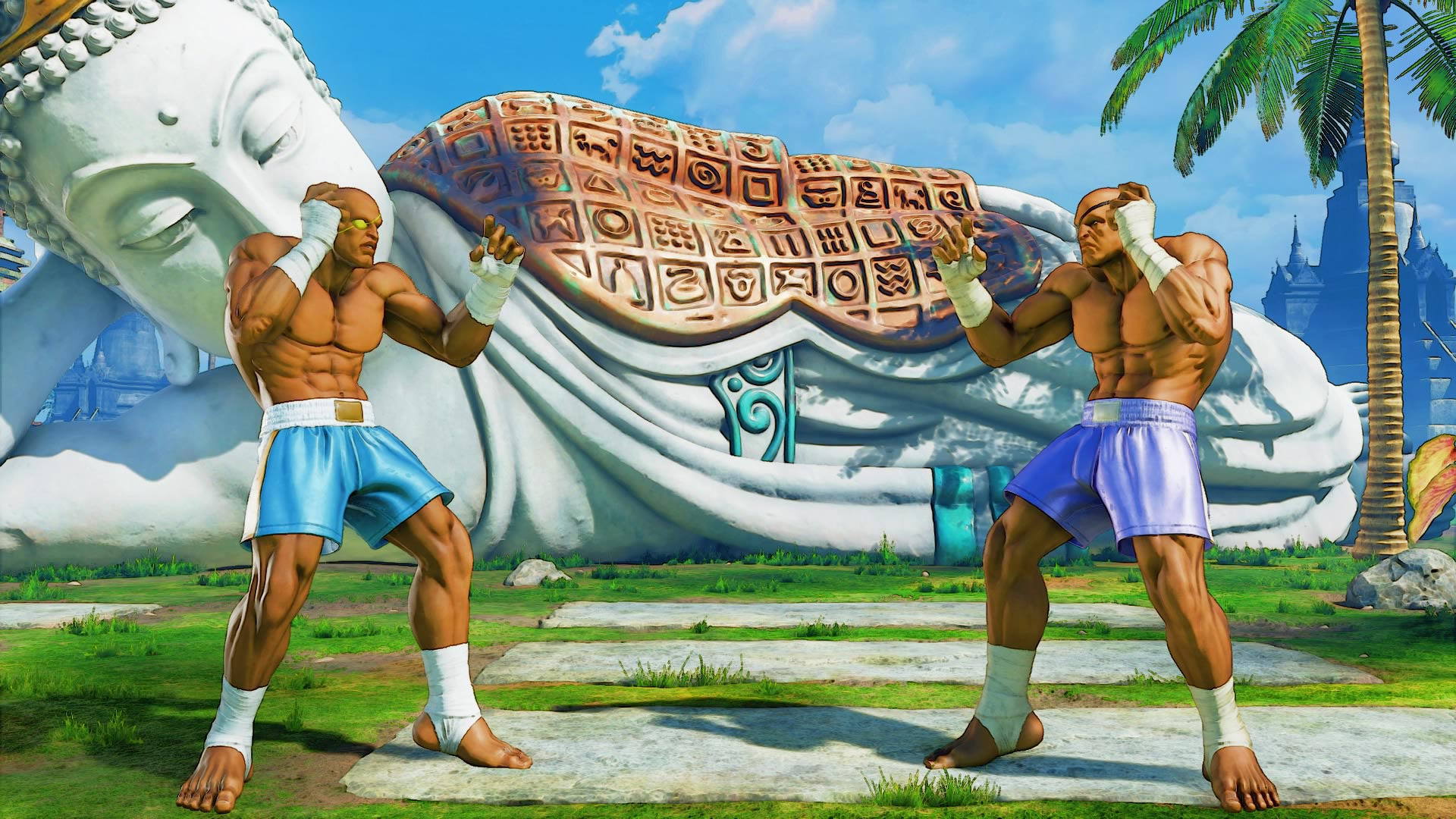 Sagat's classic costume colors in Street Fighter 5: Arcade Edition 5 out of 5 image gallery