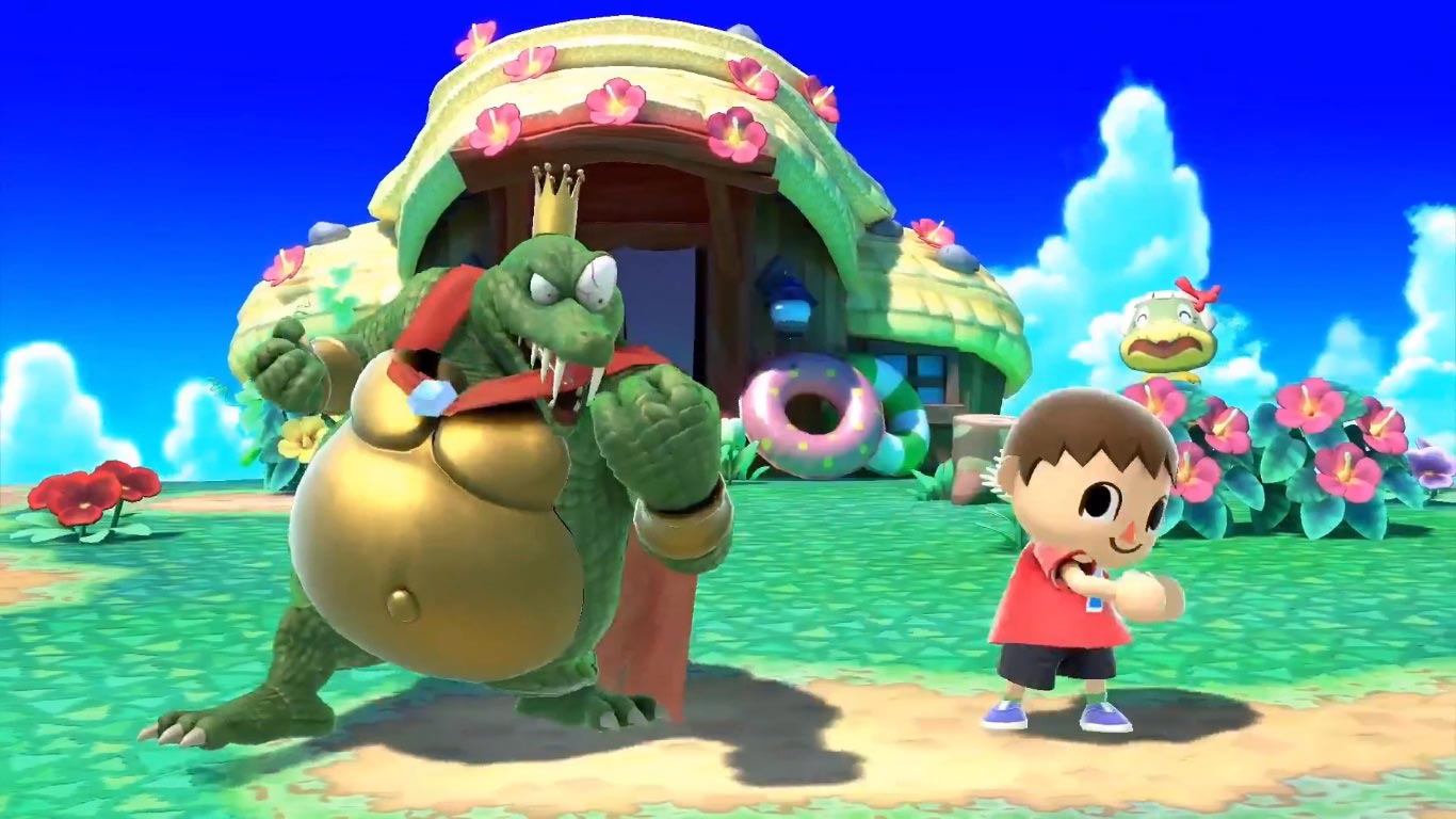 King K. Rool and Simon Belmont in Super Smash Bros. Ultimate 17 out of 18 image gallery