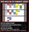 Super Smash Con 2018 Event Schedule image #1