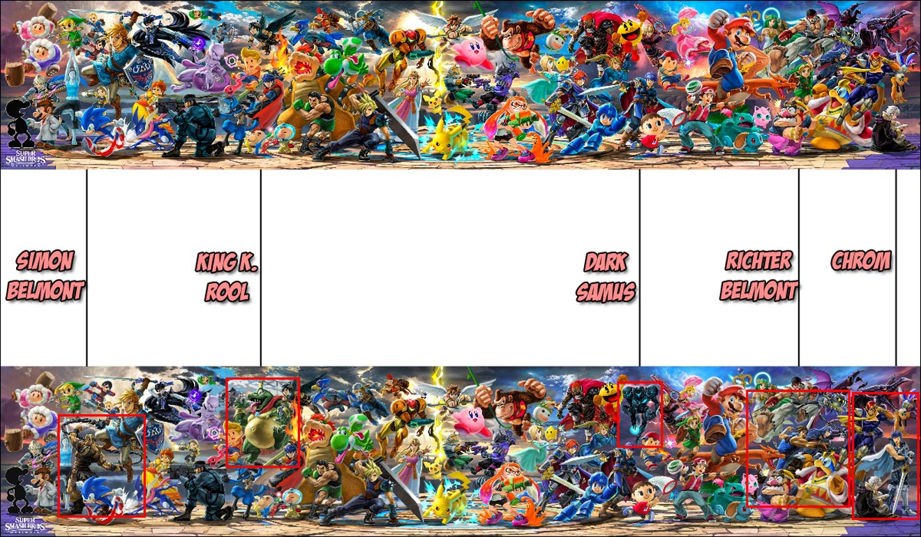 Smash Ultimate banner comparisons 1 out of 1 image gallery