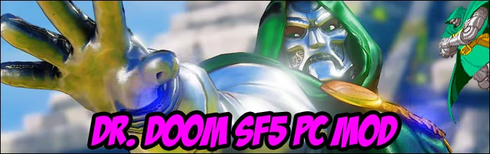 Dr  Doom taking the place of M  Bison is the perfect PC mod you