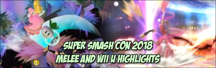 Super Smash Con 2018 featured Peach vs  Marth in the grand finals