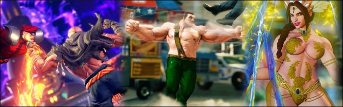 G, Sagat, Carnival Laura, Zangief as Mike Haggar and more