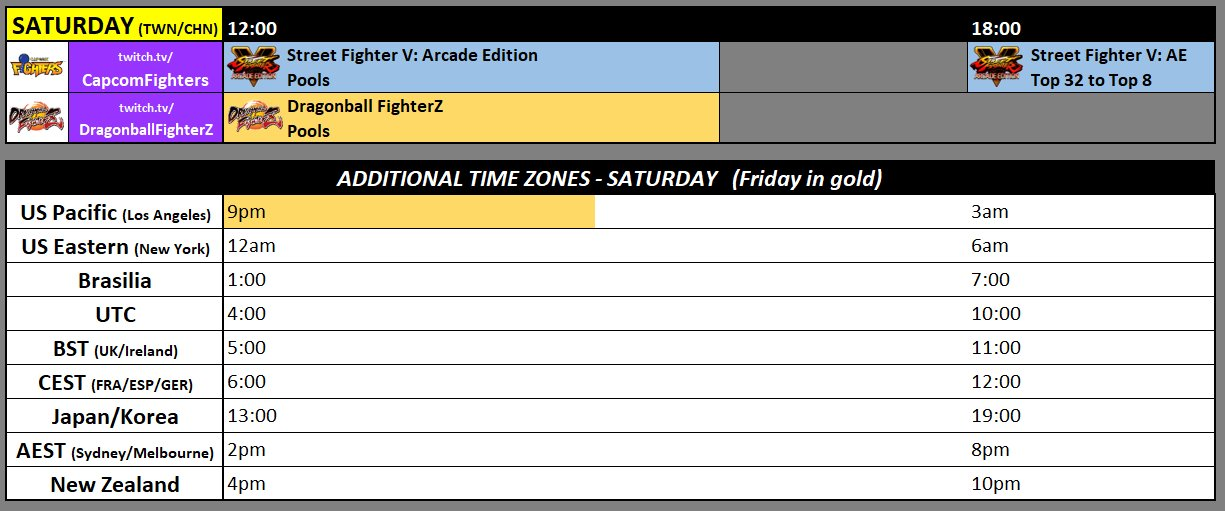 TWFighter Major 2018 Event Schedule 2 out of 3 image gallery