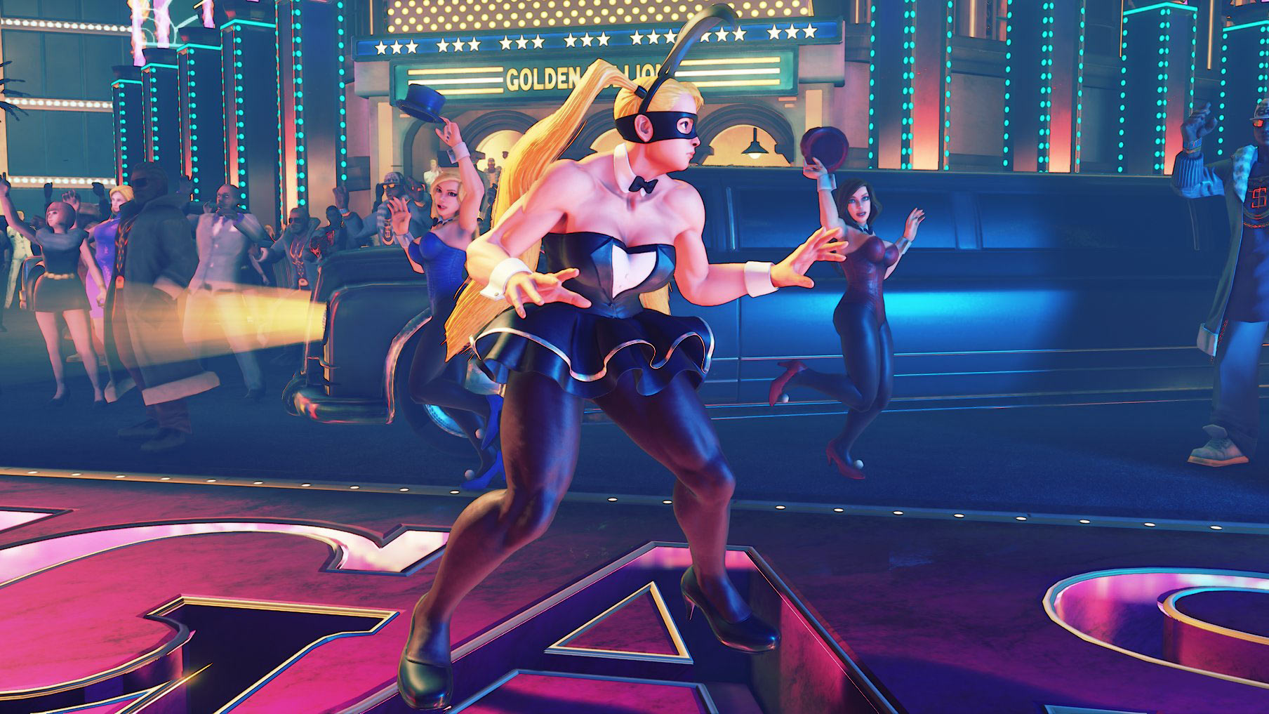 Street Fighter 5 craft costumes for Menat, R. Mika, Kolin and Falke 2 out of 4 image gallery