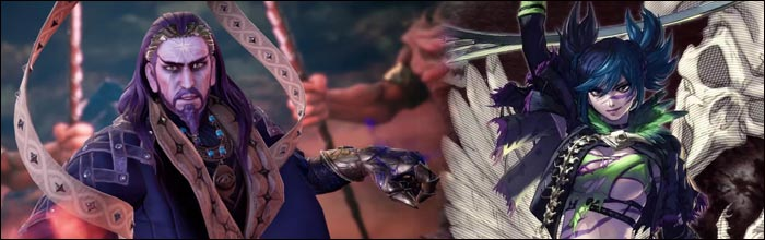 The mysterious man from the latest Soul Calibur 6 Story Mode