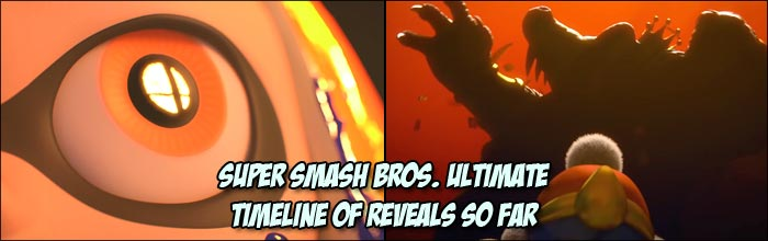 Scaled Timeline For Super Smash Bros Ultimate Character Reveals So Far Compared To Other Entries In The Series