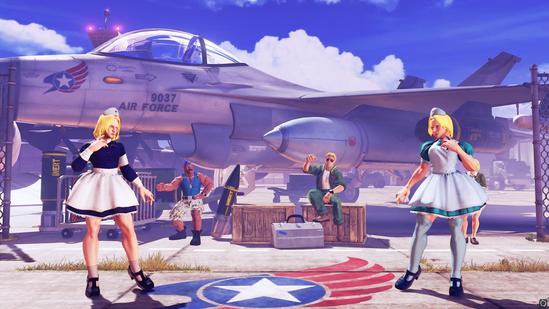 Professional costume colors for Street Fighter 5 2 out of 21 image gallery