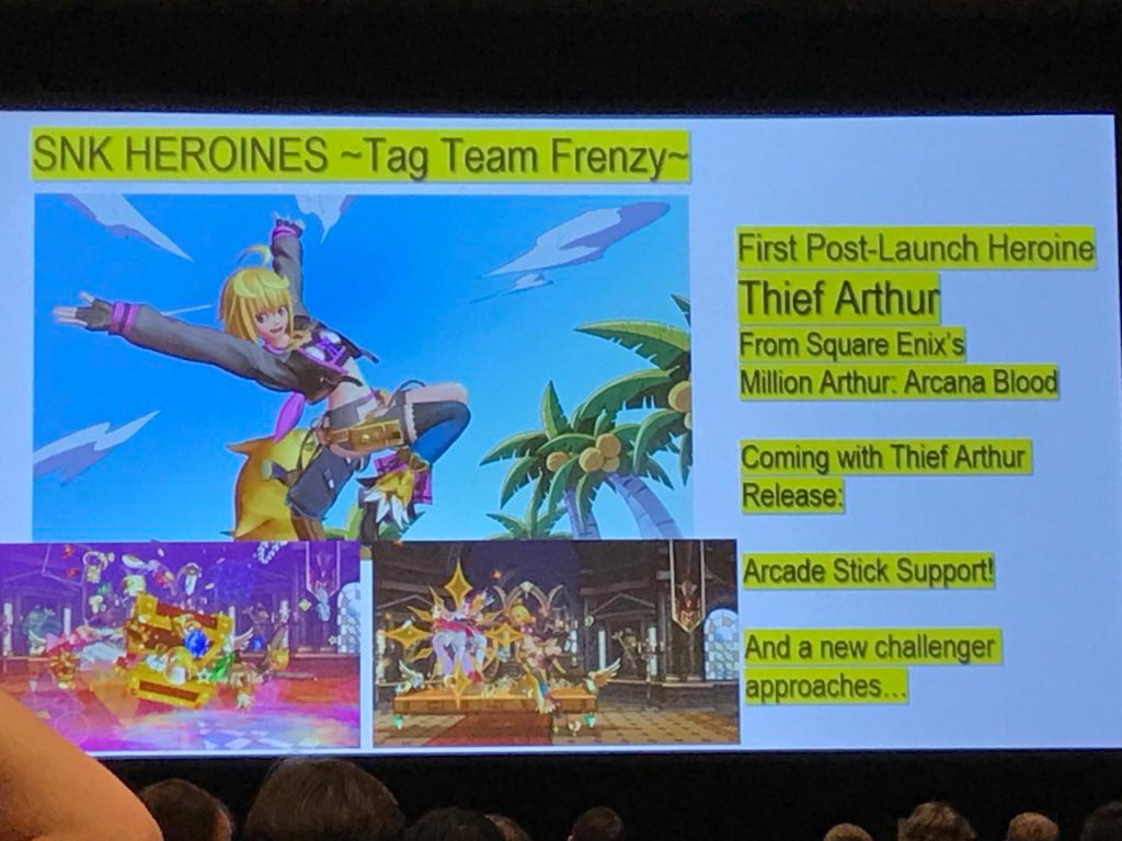 SNK Heroines announcements from PAX 1 out of 2 image gallery