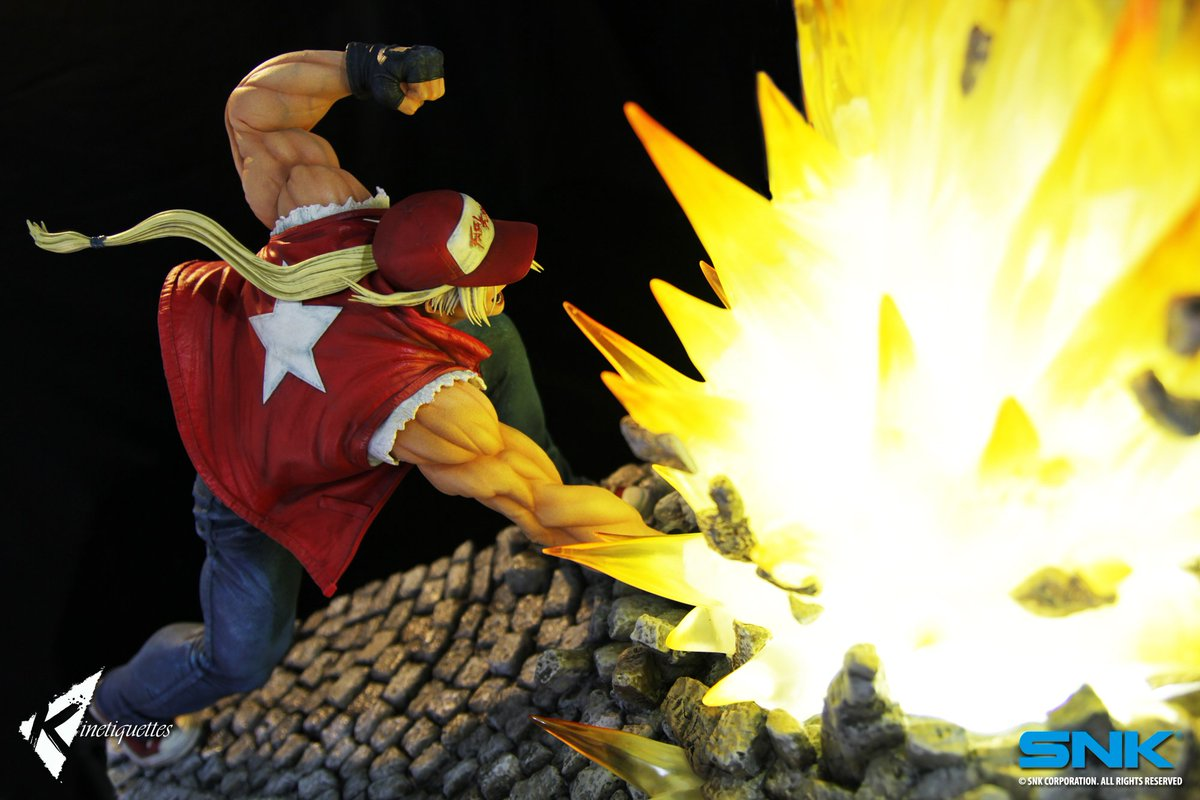 Terry Bogard Kinetiquettes 1 out of 6 image gallery