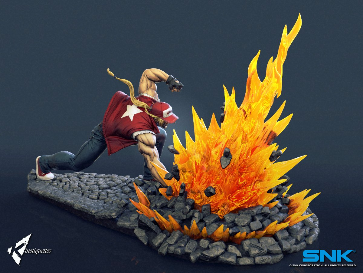 Terry Bogard Kinetiquettes 2 out of 6 image gallery