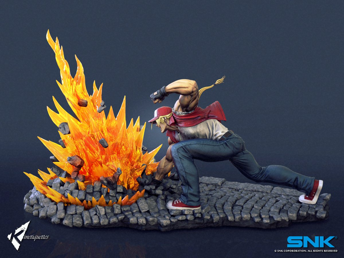 Terry Bogard Kinetiquettes 3 out of 6 image gallery