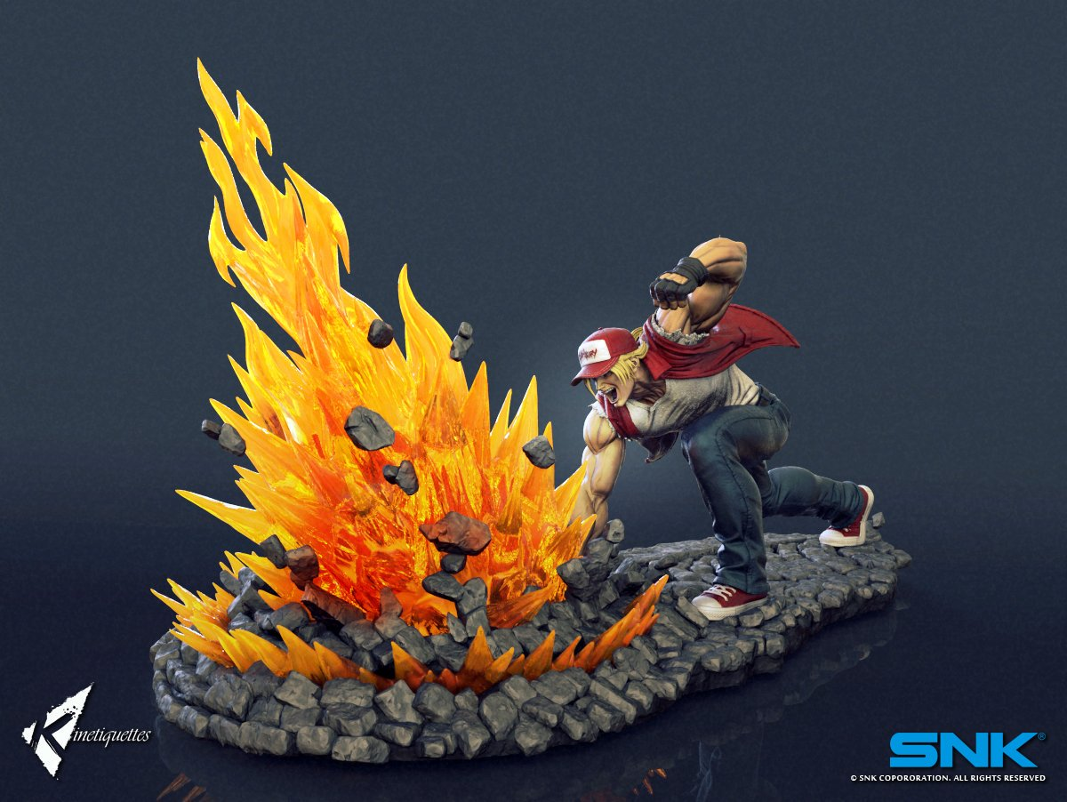 Terry Bogard Kinetiquettes 4 out of 6 image gallery