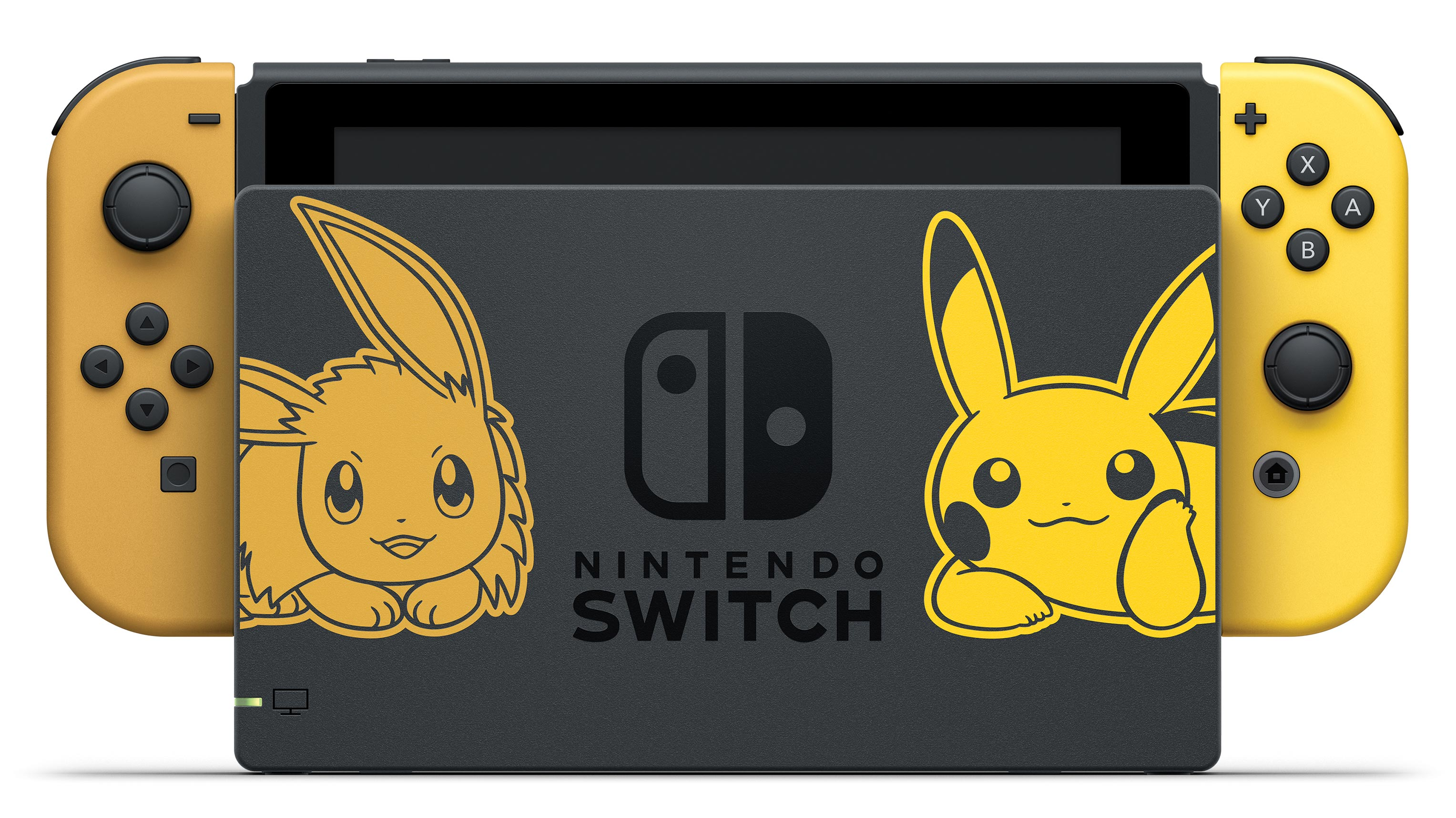 Pokémon-themed Pikachu and Eevee Nintendo Switch console 1 out of 5 image gallery