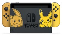 Pokémon-themed Pikachu and Eevee Nintendo Switch console  out of 5 image gallery