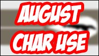 Street Fighter 5 character statistics for August and July image #1