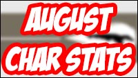 Street Fighter 5 character statistics for August and July image #2