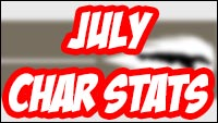 Street Fighter 5 character statistics for August and July image #4
