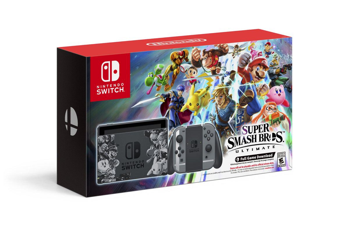 Super Smash Bros. Ultimate Switch bundle 1 out of 3 image gallery