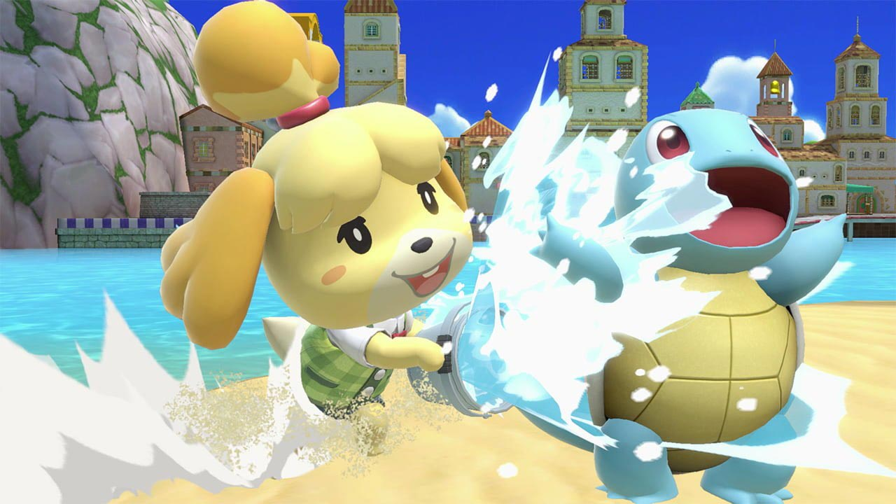 Isabelle in Super Smash Bros. Ultimate 2 out of 9 image gallery