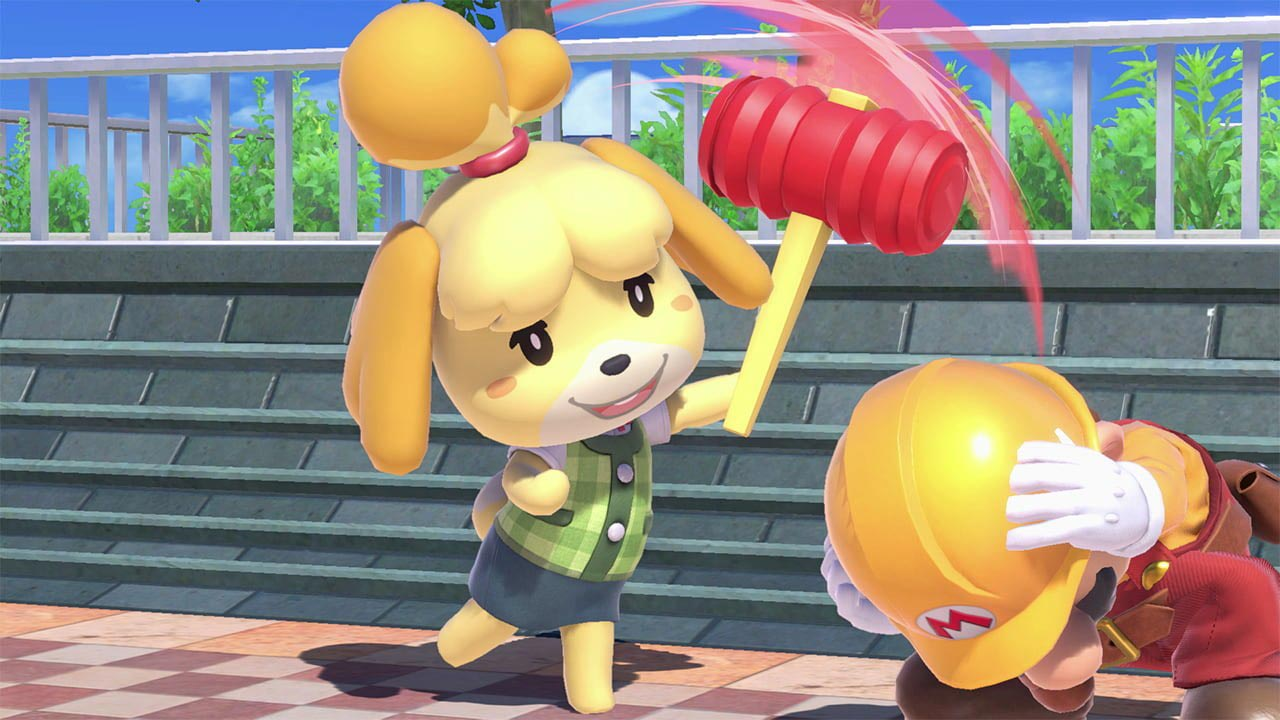 Isabelle in Super Smash Bros. Ultimate 3 out of 9 image gallery
