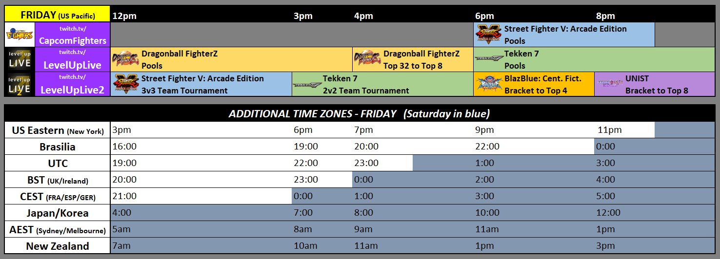 SoCal Regionals 2018 Event Schedule 1 out of 3 image gallery