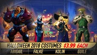 New Street Fighter 5: Arcade Edition Halloween costumes image #1