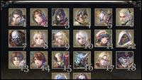 Soul Calibur 6 style select screen image #1